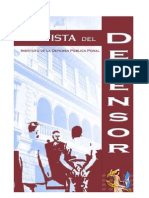 revista el defensor No  4 IDPP