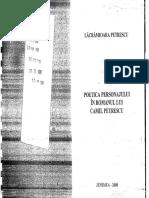 Poetica personajului in opera lui Camil Petrescu