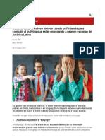 Cómo Es KiVa, El Exitoso Método Creado en Finlandia Para Combatir El Bullying Que Están Empezando a Usar en Escuelas de América Latina - BBC News Mundo