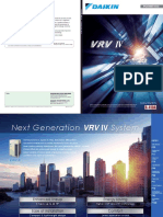 Daikin VRV IV catalogue