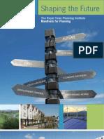 RTPI Manifesto for Planning 2010 Full