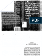Bericat La Integracion de Los Met. Cuantitativos y Cualitativos