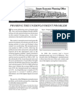 PI 2004-08 - Probing the Unemployment Problem