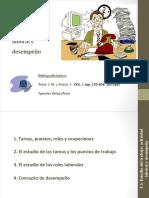 Tema 3. Estudio Del Trabajo Actividad Laboral y Desempeño