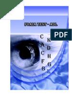 Foaia Test ADL