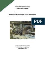 Tor Pengadaan Strategic Part 2018 Pltu Adp Eng