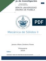 TRABAJO MECÁNICA DE MATERIALES