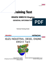 HITACHI  Training Text Engine Isuzu 6WG1X.pdf