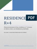 Rapport d'étude - Résidence R+4 P16
