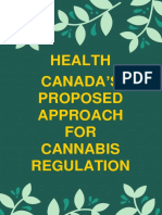 Health Canada's Proposed Approach for Cannabis Regulation