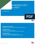 Groupe Sncf Resultats Annuels 2017 Dossier de Presse Detaille.27.02.2018