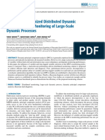 Distributed Dynamic PCA