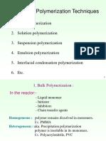 5. Polymerisation Practice TEPE