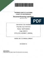 Judgment in Fantex v. Kendall Wright