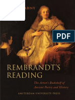 Golahny - Rembrandt's Reading ~ The artist's bookshelf of ancient poetry and history.pdf