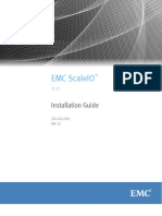 Emc Scaleio Installation Guide 1.0