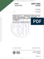 Nbr 16725 2014 Residuo Quimico Informacoes Seguranca Saude Meio Ambiente Ficha Dados Seguranca Residuos Quimicos Fdsr Rotulagem