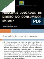 Principais julgados Direito Consumidor 2017