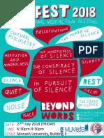 Medfest Booklet 2018