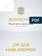 Slides - Blockchain - Alan Lazalde