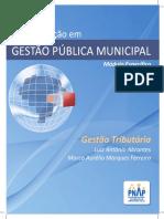 Apostila Gestao Tributaria - 3ed 2014 - Pós Em Gestão Pública Municipal
