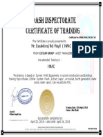 HVAC  CERTIFICATION AND  TRAINING