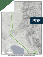 Procession route for Chief Matt Burchett