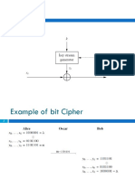 Bit Cipher 1 Example of Bit Cipher 2 Practical Stream Cipher 3