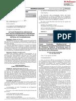 Ley que promueve el servicio de facilitación administrativa preferente en beneficio de personas en situación especial de vulnerabilidad
