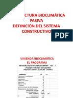 VIVIENDA BIOCLIMÁTICA 2