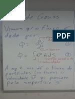 Fis3-170605-Lei de Gauss e Potencial Eletrico