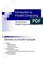 Chapter 2 - Parallel Programming Platforms