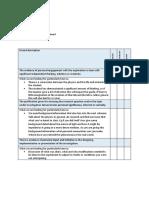 Explaination of IA Criteria