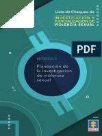 Planeacion de La Violencia Sexual