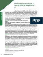 Promoção Da Declaração Universal Sobre Bioética e Direitos Humanos