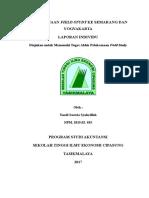 Pelaksanaan Field Study Ke Semarang Dan Yogyakarta