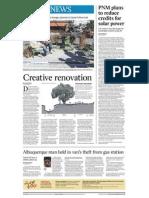 Local News- Creative renovation