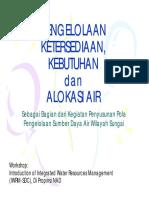 Pengelolaan Ketersediaan Kebutuhan dan Alokasi Air-2.pdf