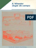 Wheeler Mortimer Arqueologia de Campo [Ocr]
