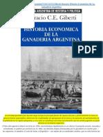 Giberti, Horacio. Historia Económica de La Ganadería Argentina