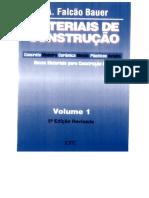 Materiais de Construção - Falcão Bauer - Vol 1 - 5ª Ed