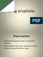 Drug Eruptions-SLIDE SHARE
