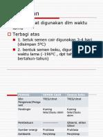 Pengolahan dan Penyimpanan Semen.pptx