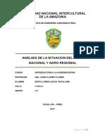 Agricultura en El Peru Fial