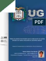 Diapositivas para la sustentación del proyecto de tesis - 7 de Mayo del 2018