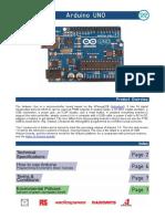 Arduino A000066 Datasheet