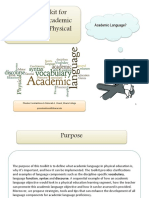 toolkit for academic language in physicaleducation subm-1-19-14