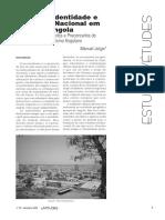 Estudo sobre Identidade Angola