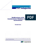Modificaciones Al IVA Chile