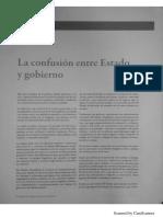 Confusion Entre Estado y Gobierno (1)